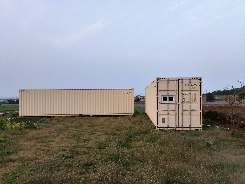 해상 컨테이너 수출용 컨테이너 40피트 하이큐빅
