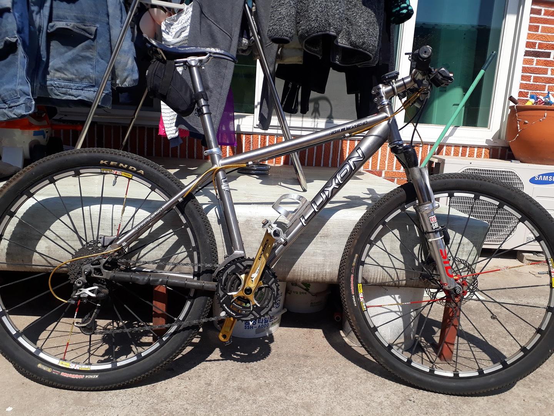 MTB 티타늄 자전거