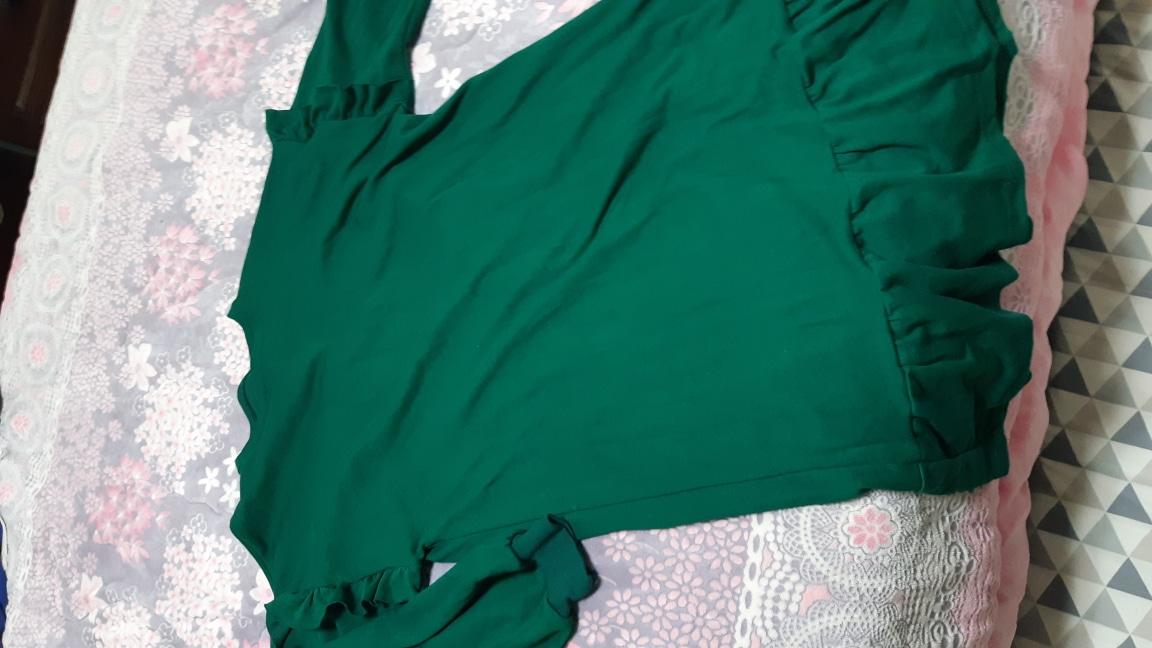 봄기운에 파릇파릇 초록 원피스 임돠~~^^