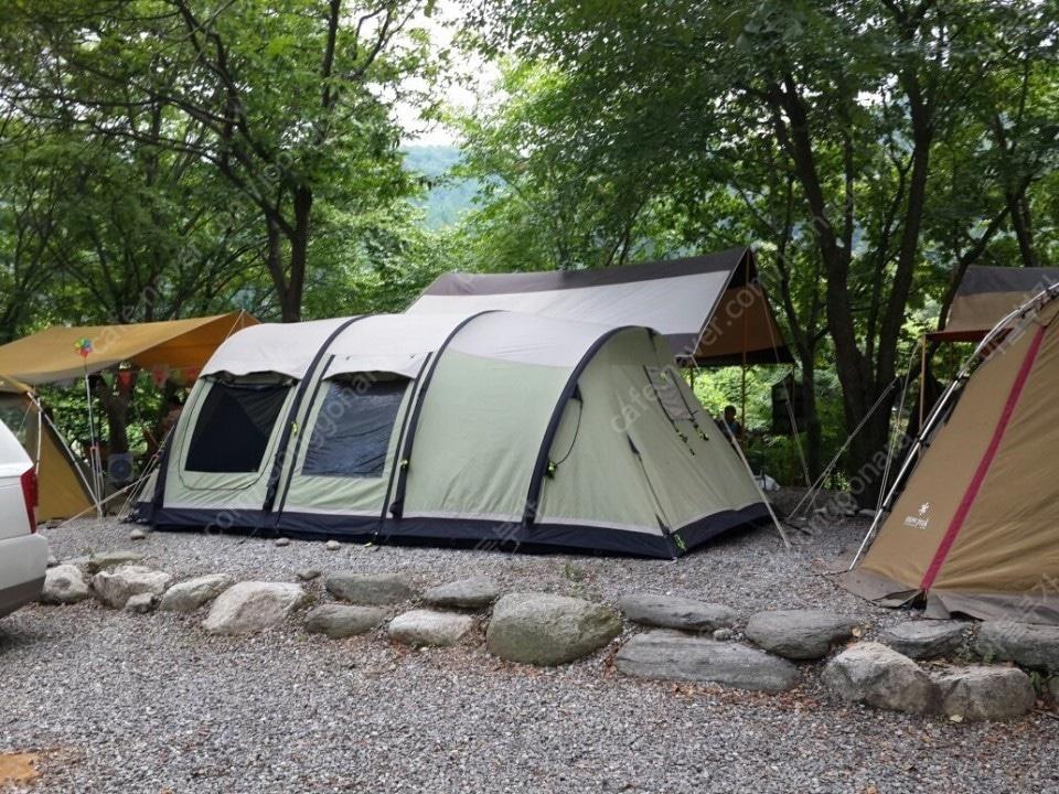 텐트 셋트 판매합니다.아웃웰 자동 에어텐트