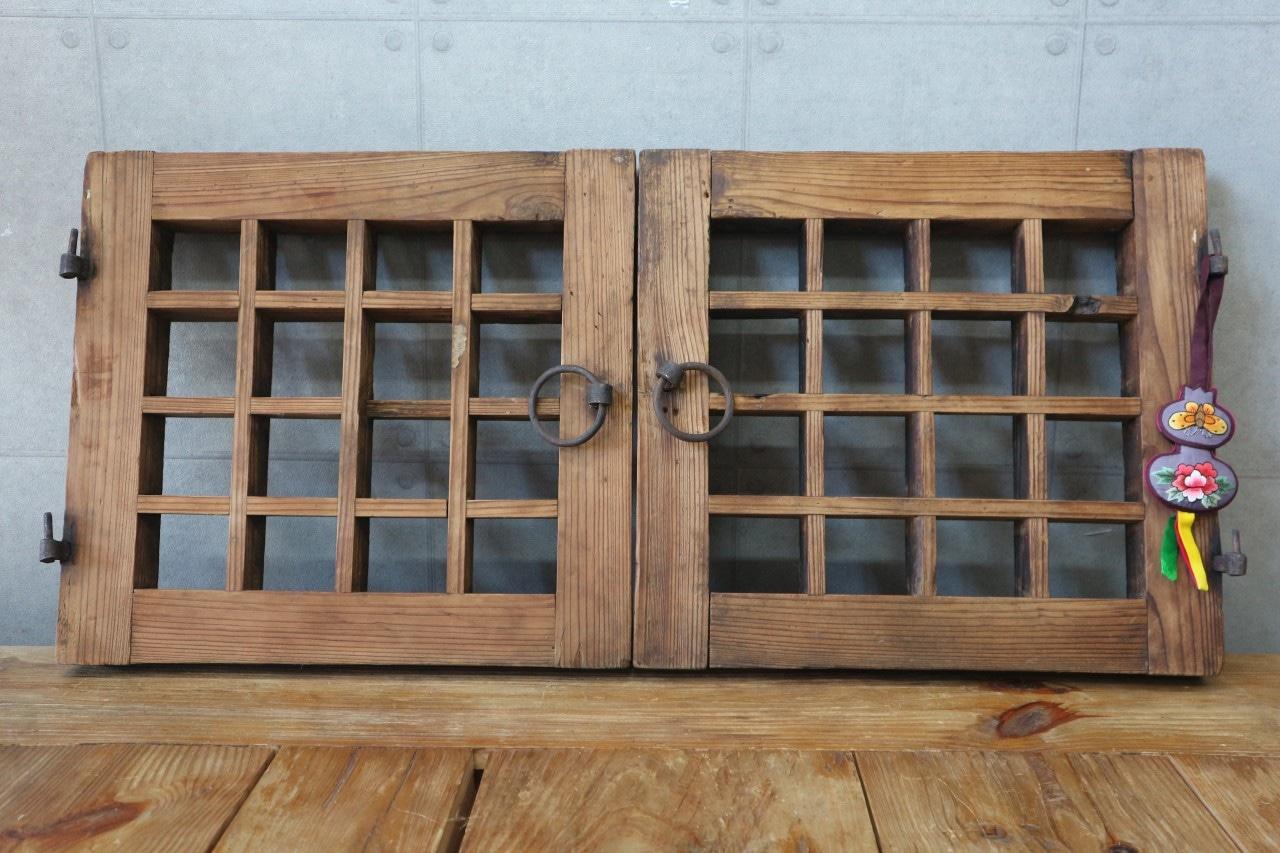188. 옛날창문 한옥창문 다락문 고재인테리어창문