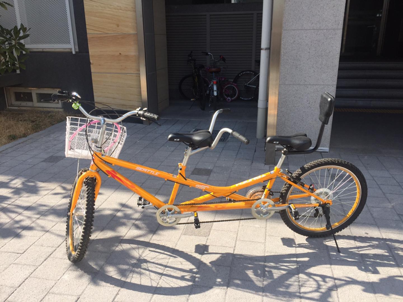 자전거, 커플자전거, 2인용자전거 팝니다