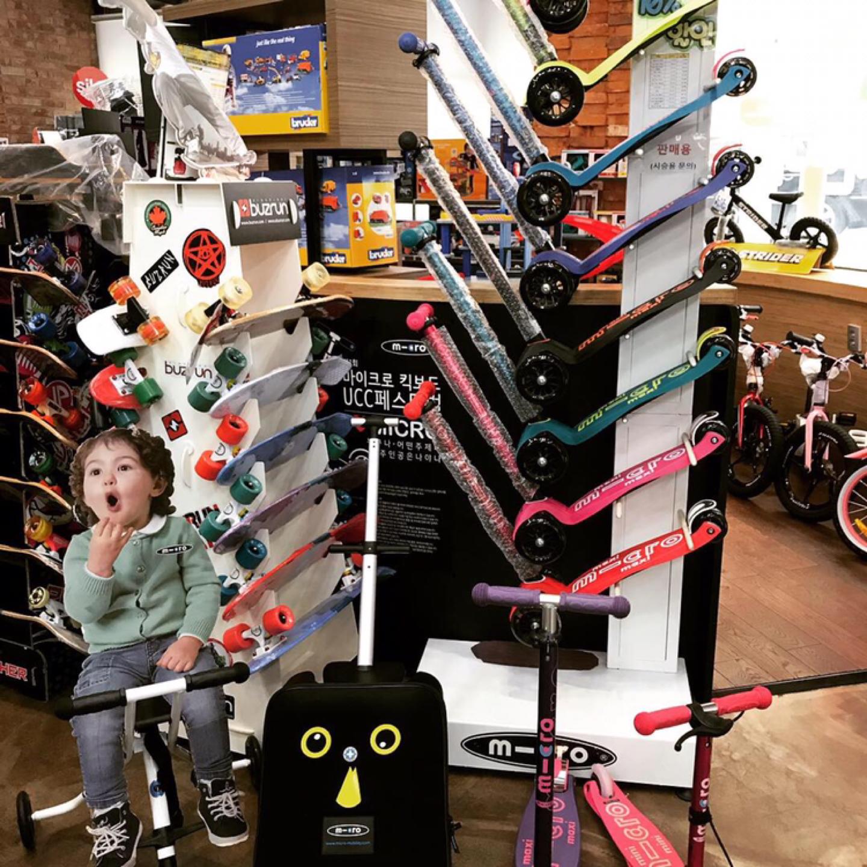 유아전문  스포츠용품, 장난감 할인 매장 팜토이
