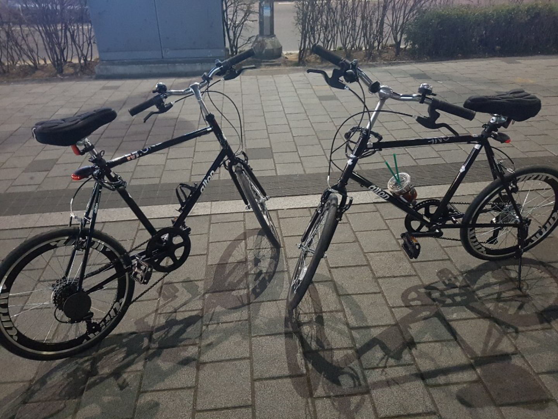 자전거 두대 팝니다(커플자전거)