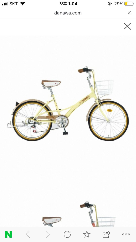 삼천리자전거 22브리즈 아이보리