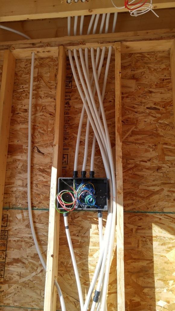 전기배선 및 네트워크 구축