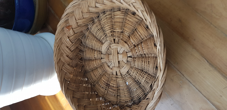 전통민속품(대바구니)