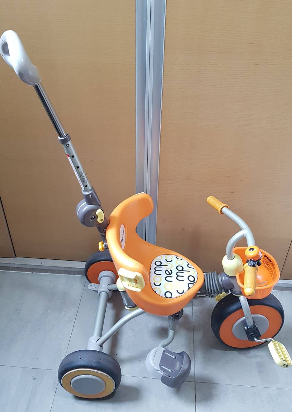 유아접이식자전거 컴포네오자전거