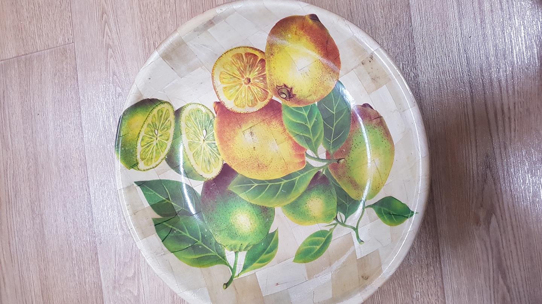 과일쟁반  새상품