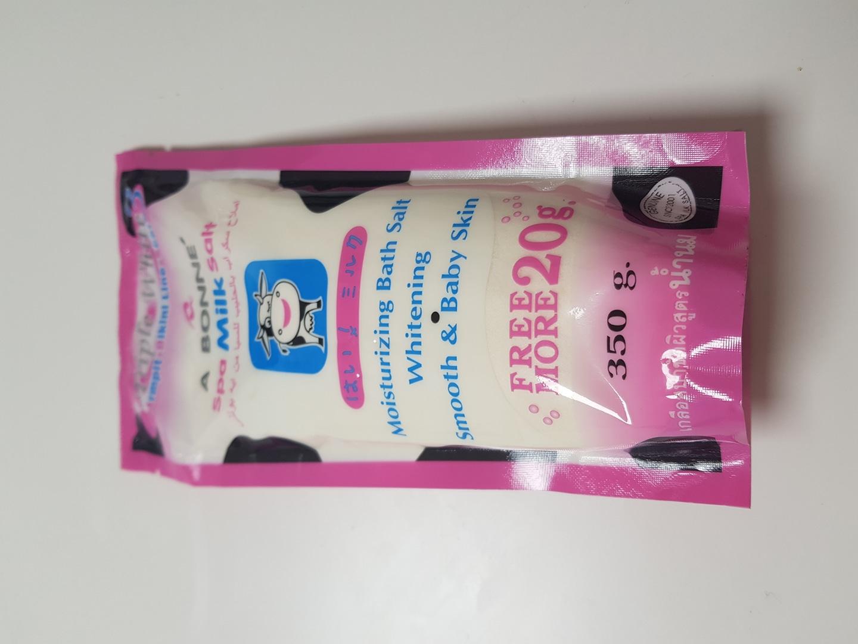 태국 우유소금 바디스크럽