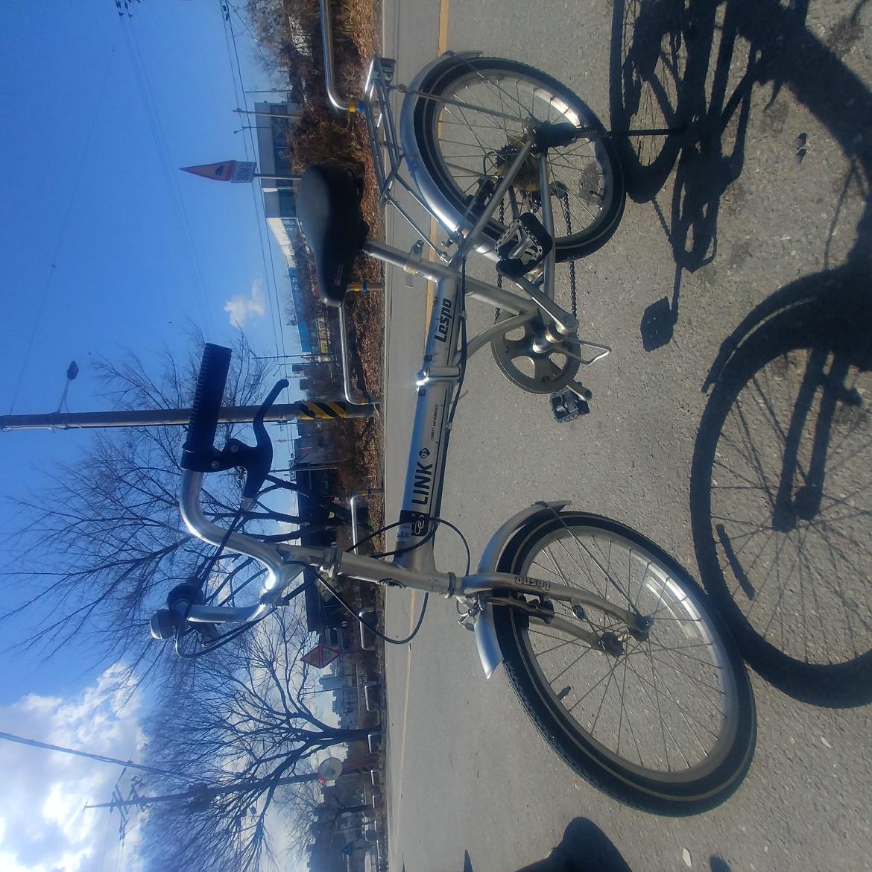 삼천리 자전거 LESPO 레스포 20 뉴링크  알루미늄 접이식자전거 팝니다