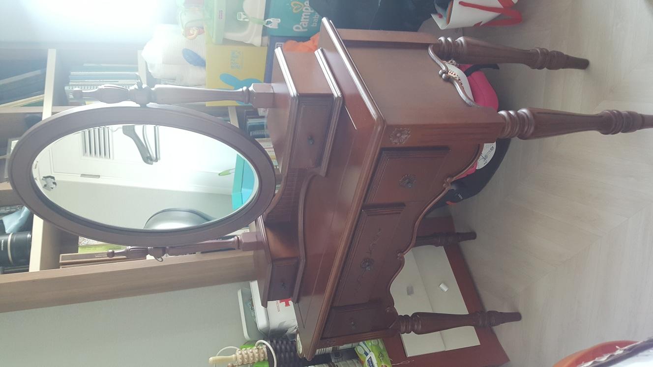 무료나눔 화장대와 의자