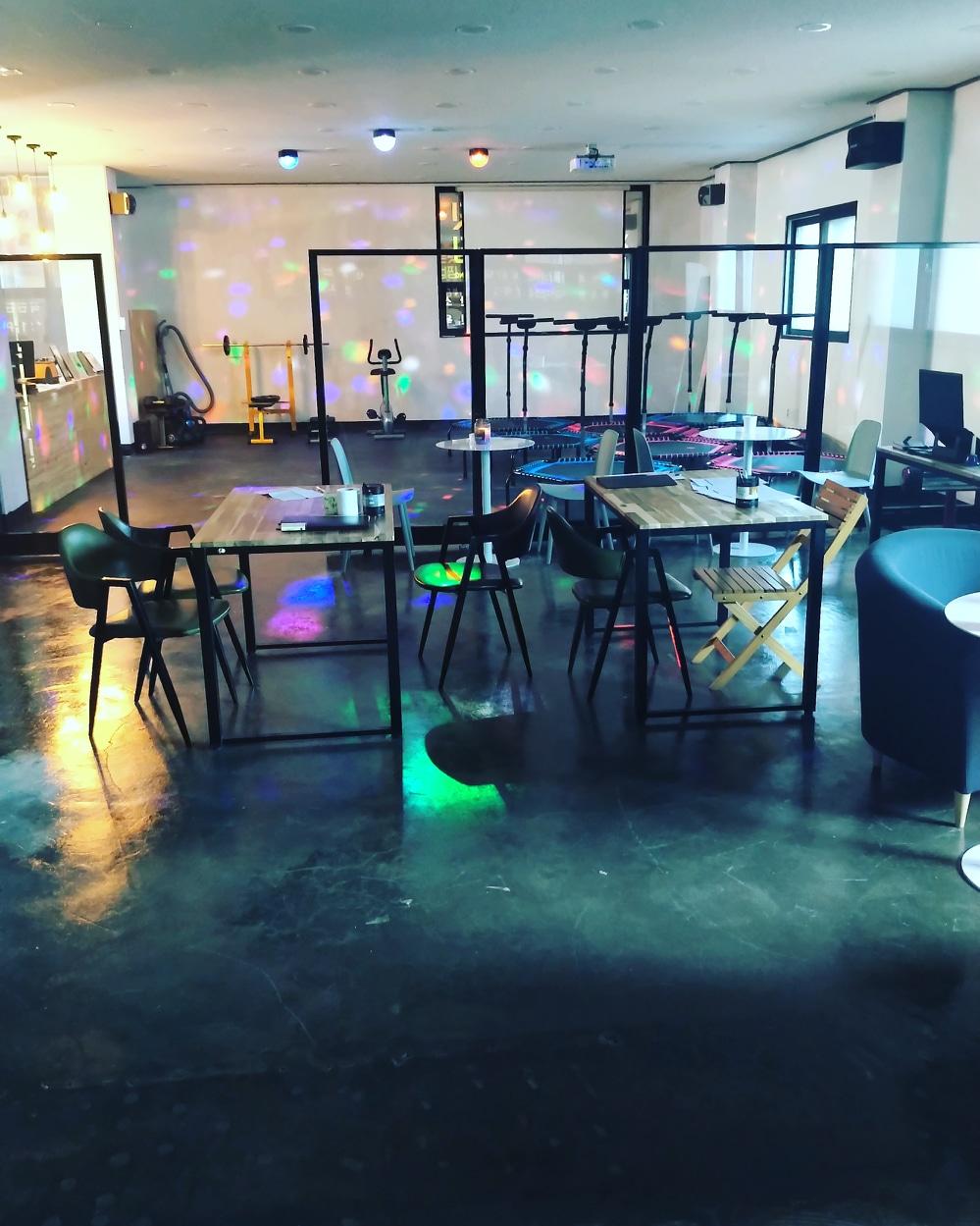 그룹PT+점핑운동 다이어트클럽 하트핏 동삭점