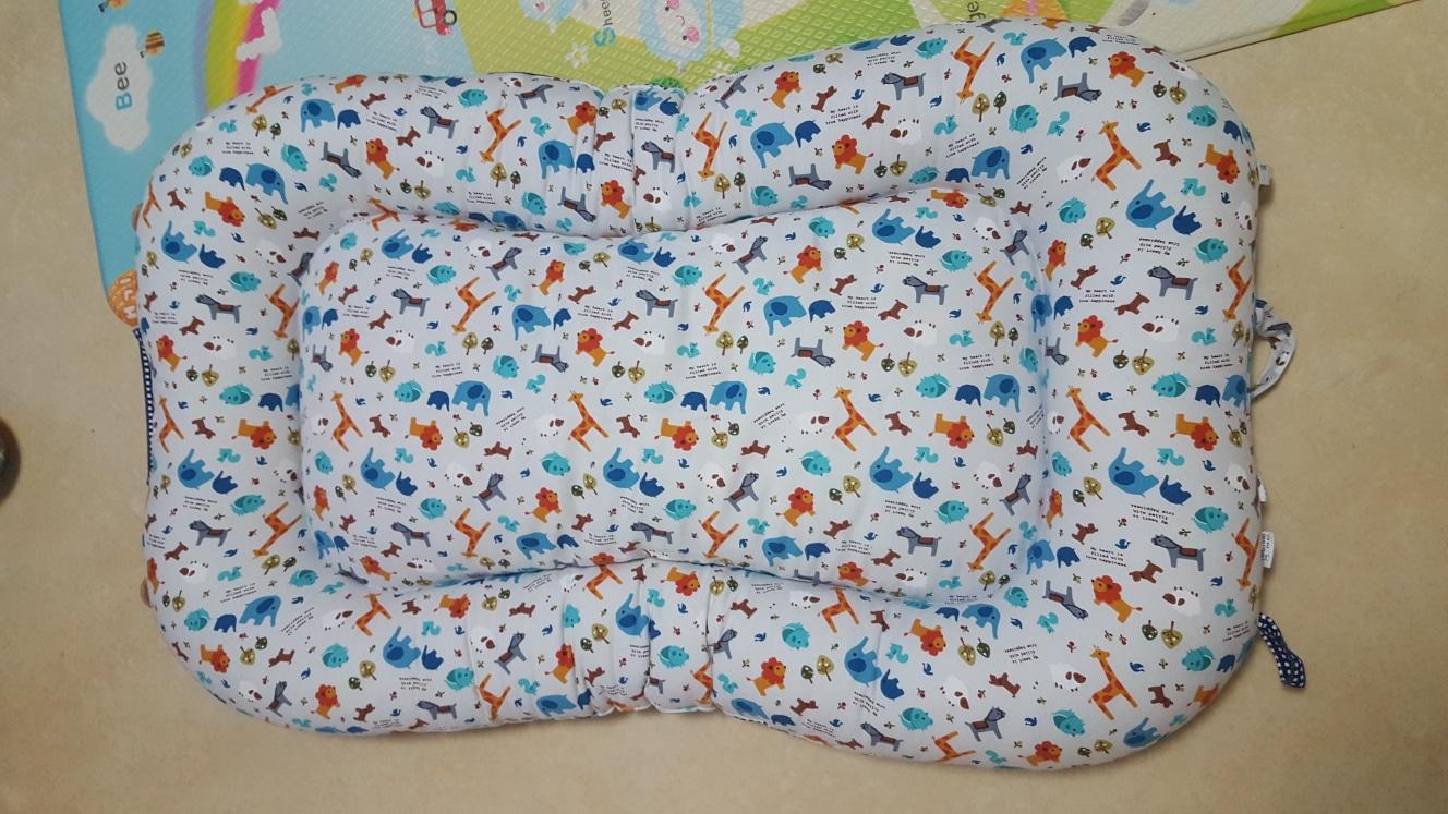 보트형 아기침대