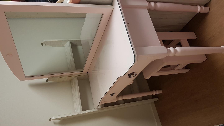 화장대 (콘솔)거울 의자세트