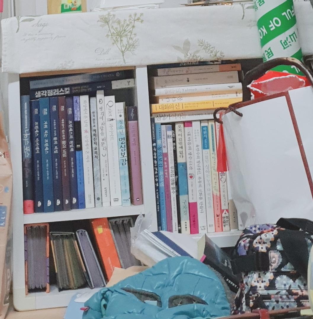 책꽃이 컴퓨터모니터  겸용