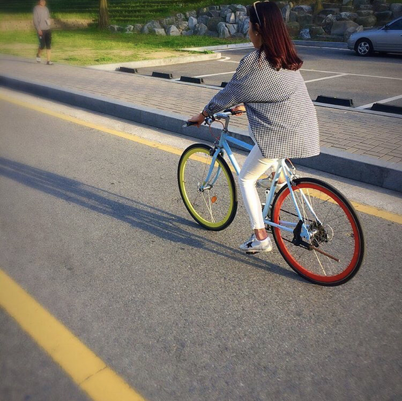 [기아/쏘울자전거] 자전거 - 기아 14단 가능해요