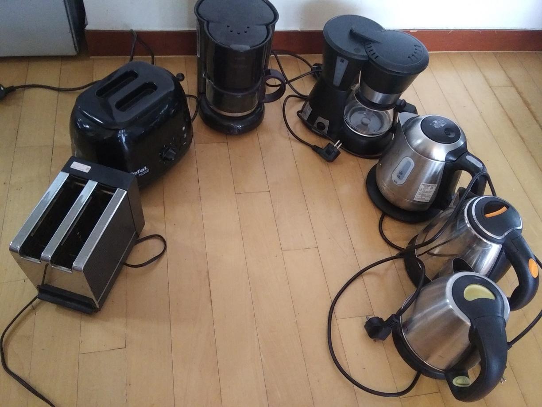 커피메이커토스터기전기주전자7가지