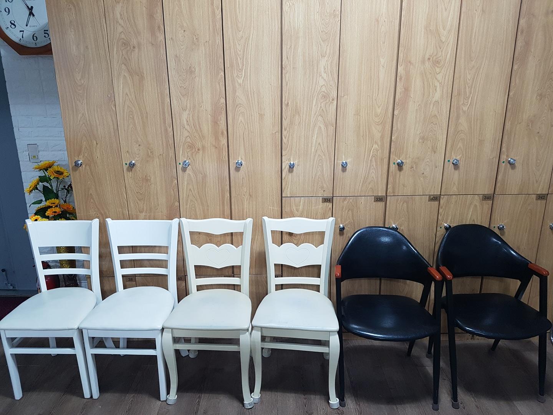 의자 6개각각  무료