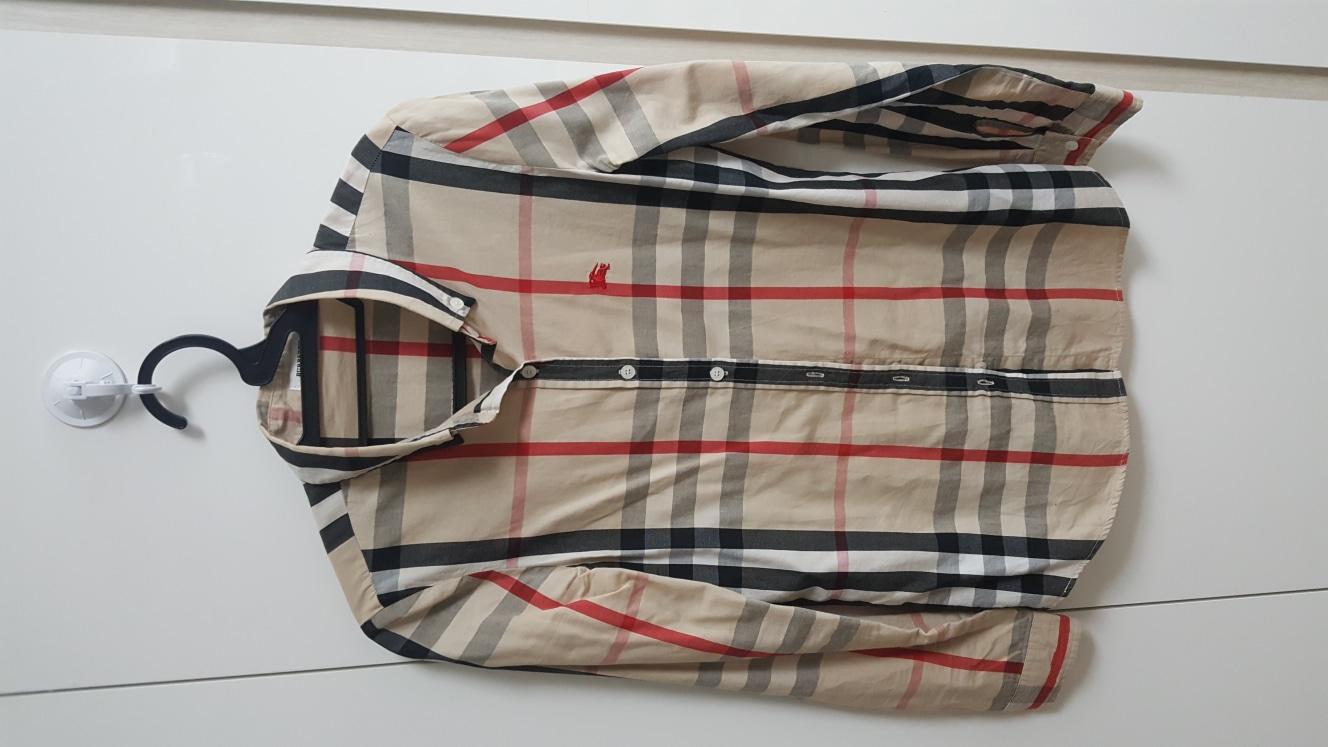 버버리남방셔츠