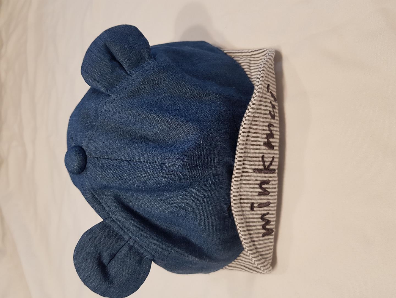 밍크뮤 모자 스냅백 (새상품, 52cm)