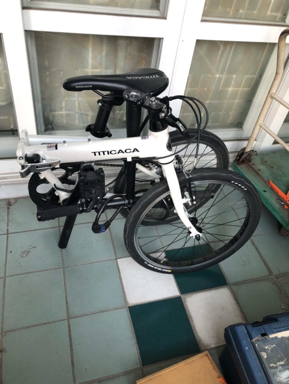 접이식 자전거 팝니다. (티티카카 P7)