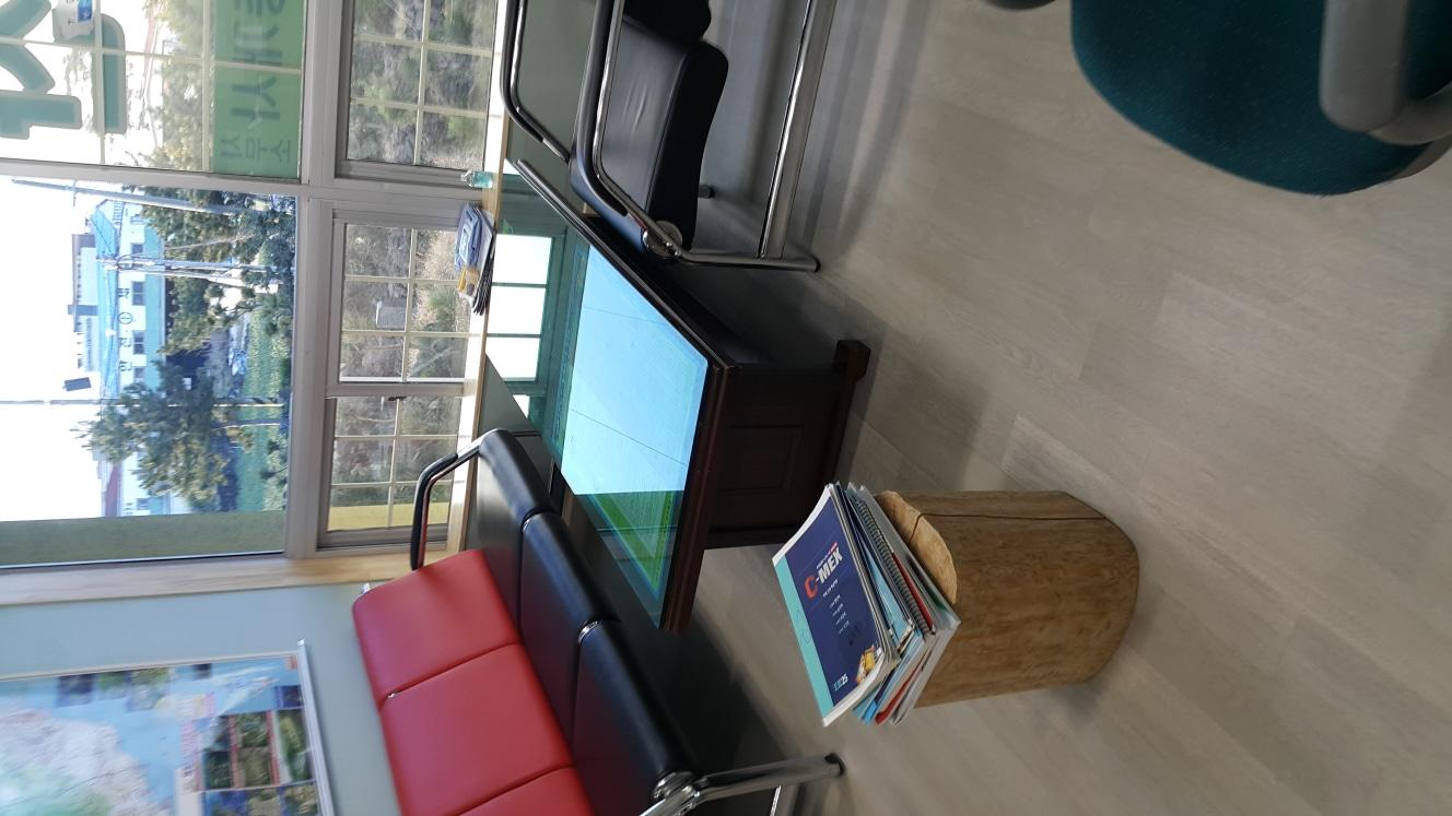 사무실용 쇼파와 테이블