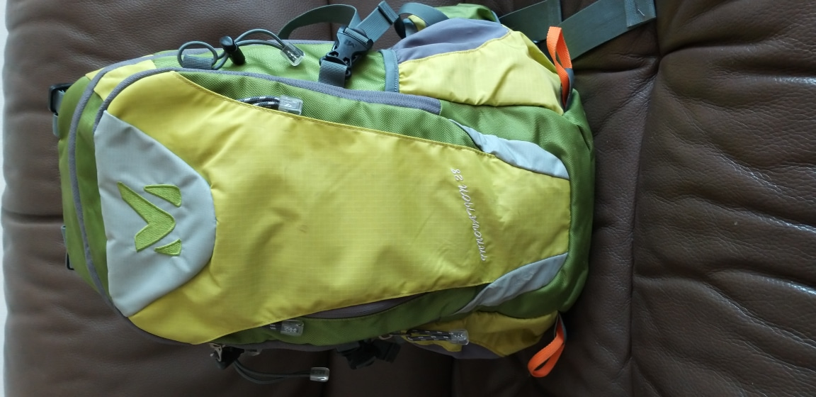 밀레 등산가방