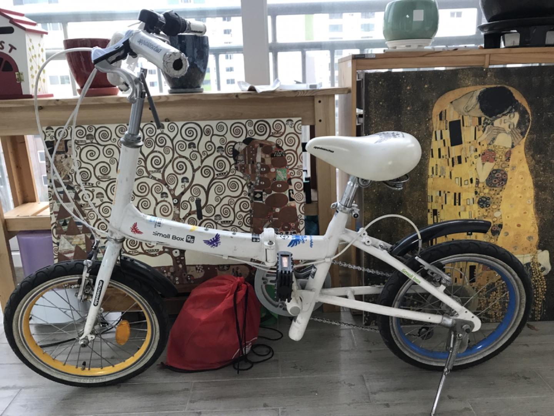 삼천리자전거 appalanchia smallbox gs 접이식 자전거 팔아요