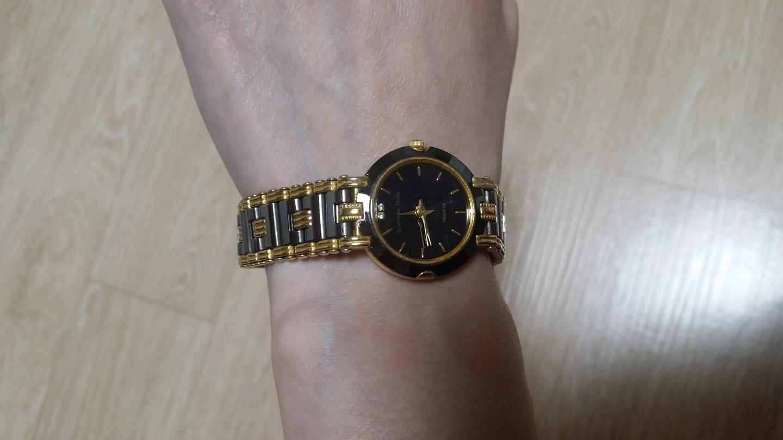반짝반짝 골드블랙 손목시계♡