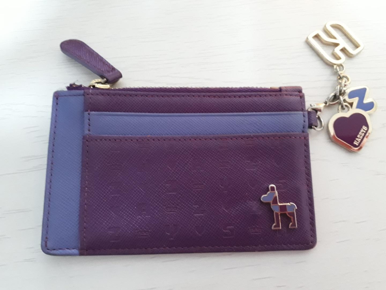 헤지스여성카드지갑