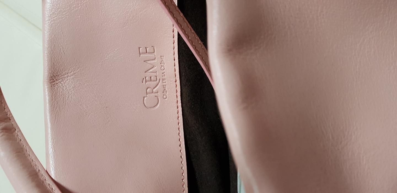 (새제품)핑크 소가죽가방 봄나들이