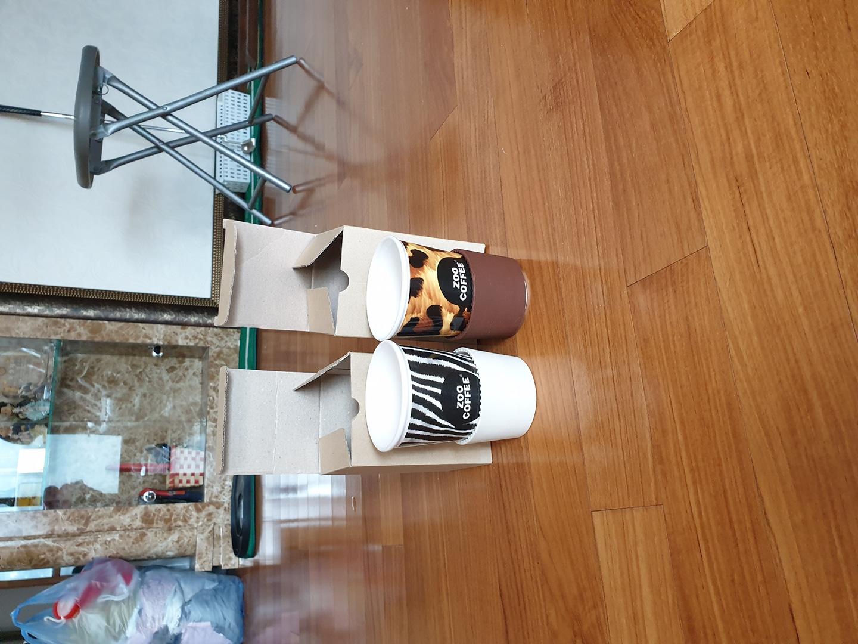 주커피...커피잔세트(새것)