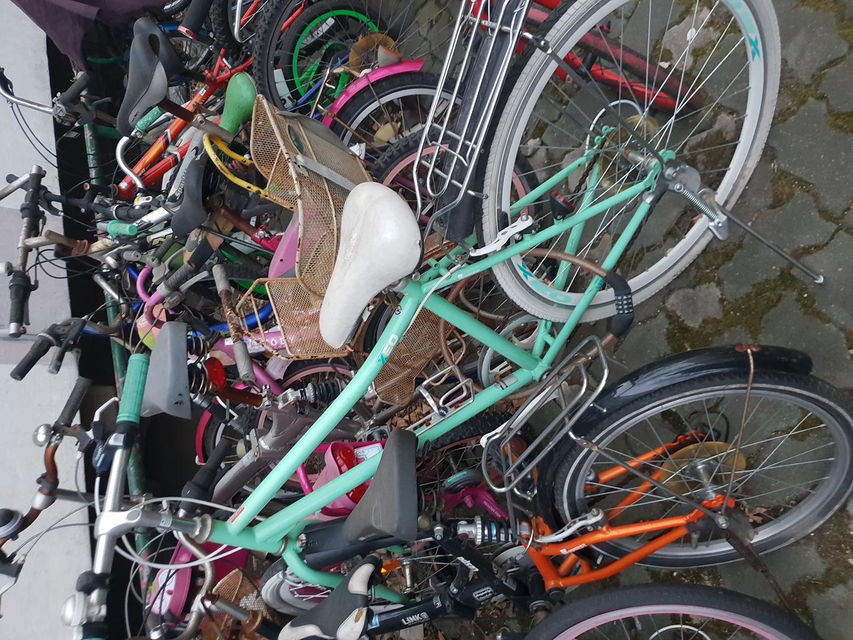 민트색자전거