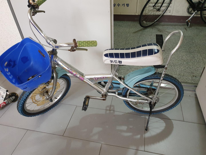 아동 자전거 18인치 네발자전거(바퀴2탈부착가능)