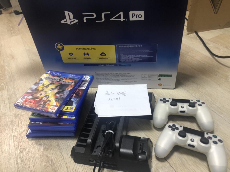 PS4 PRO 1TB CUH-7117B 화이트 1T 급처