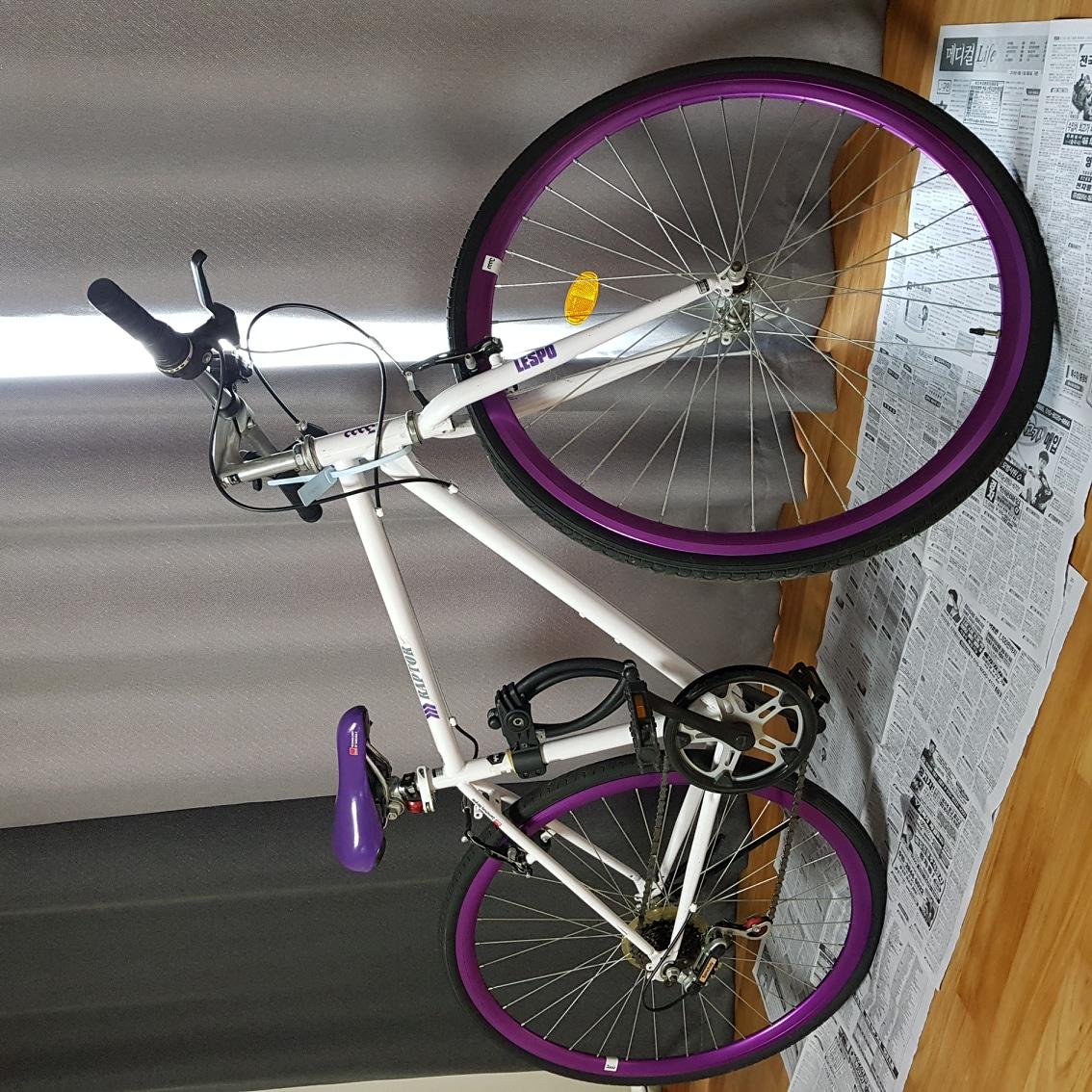 삼천리 하이브리드 랩터 자전거
