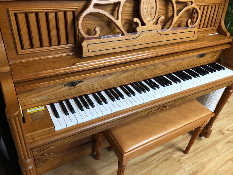 SC-300COD 삼익 피아노 팝니다 가격 낮춤