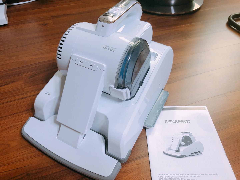 센스봇 로봇청소기HV7500 (물걸레, 먼지 흡입 청소기 모두 가능)판매