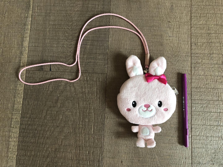 유아 가방 토끼 크로스백