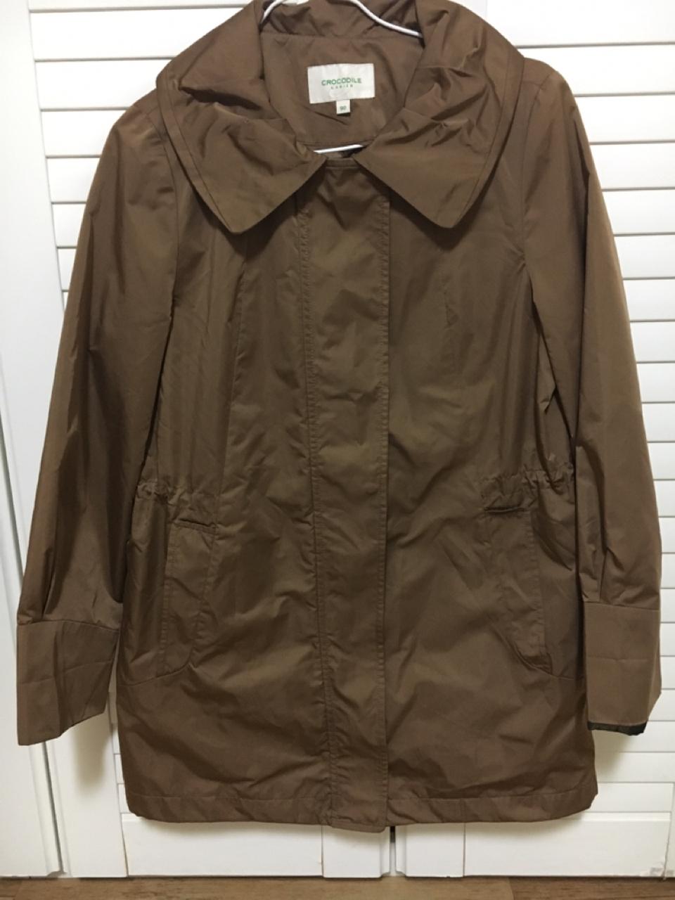 크로크타일 갈색 코트 55-66사이즈