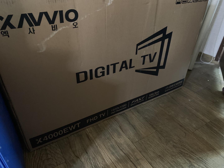 새제품 40인치 티비 10만원