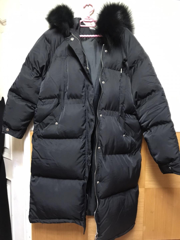롱패딩/검정롱패딩/여자/패딩/겨울옷/55사이즈/프리사이즈