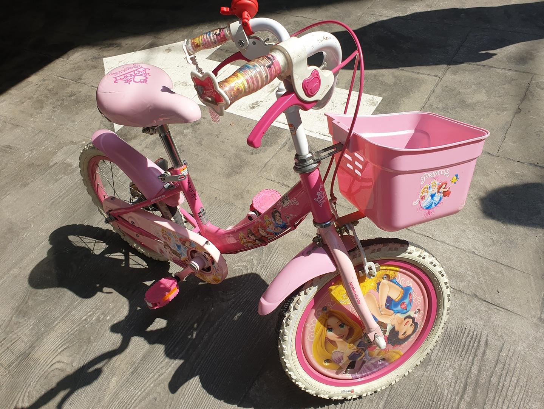 16인치 자전거 여아자전거