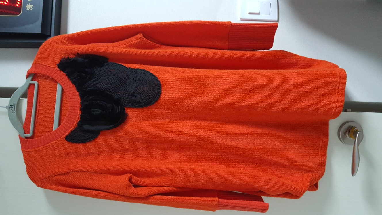 롱니트77~88(2가지색상~오렌지.레드)