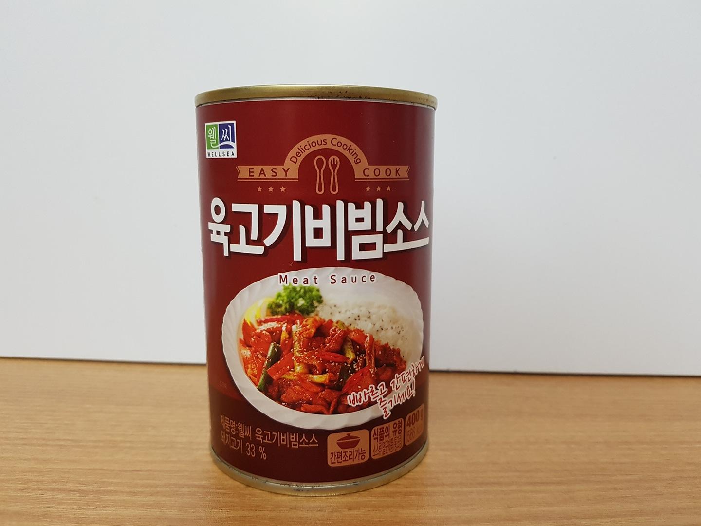 [통조림] #밥도둑 #육고기 비빔소스 1개