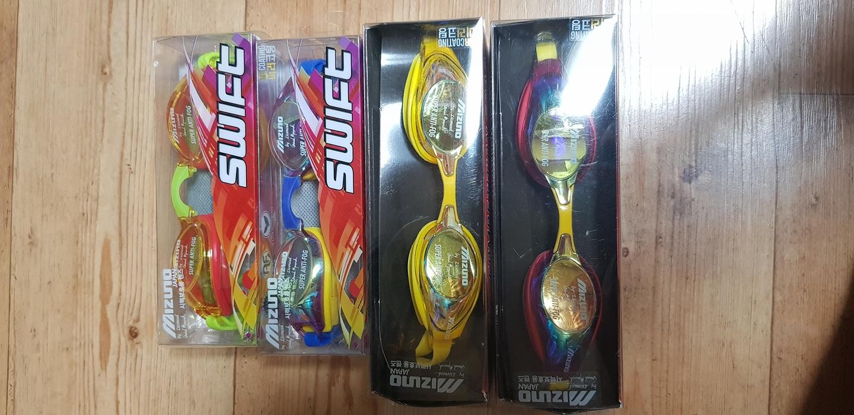 미즈노 수경 판매 새상품 아동 성인