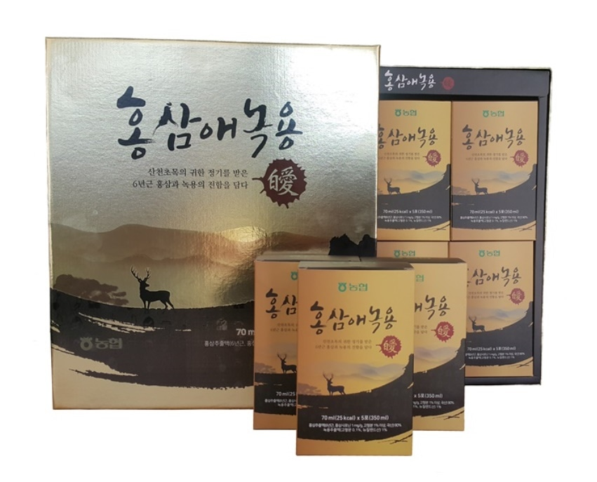 홍삼애녹용홍삼/홍삼녹용/70ml x 30포