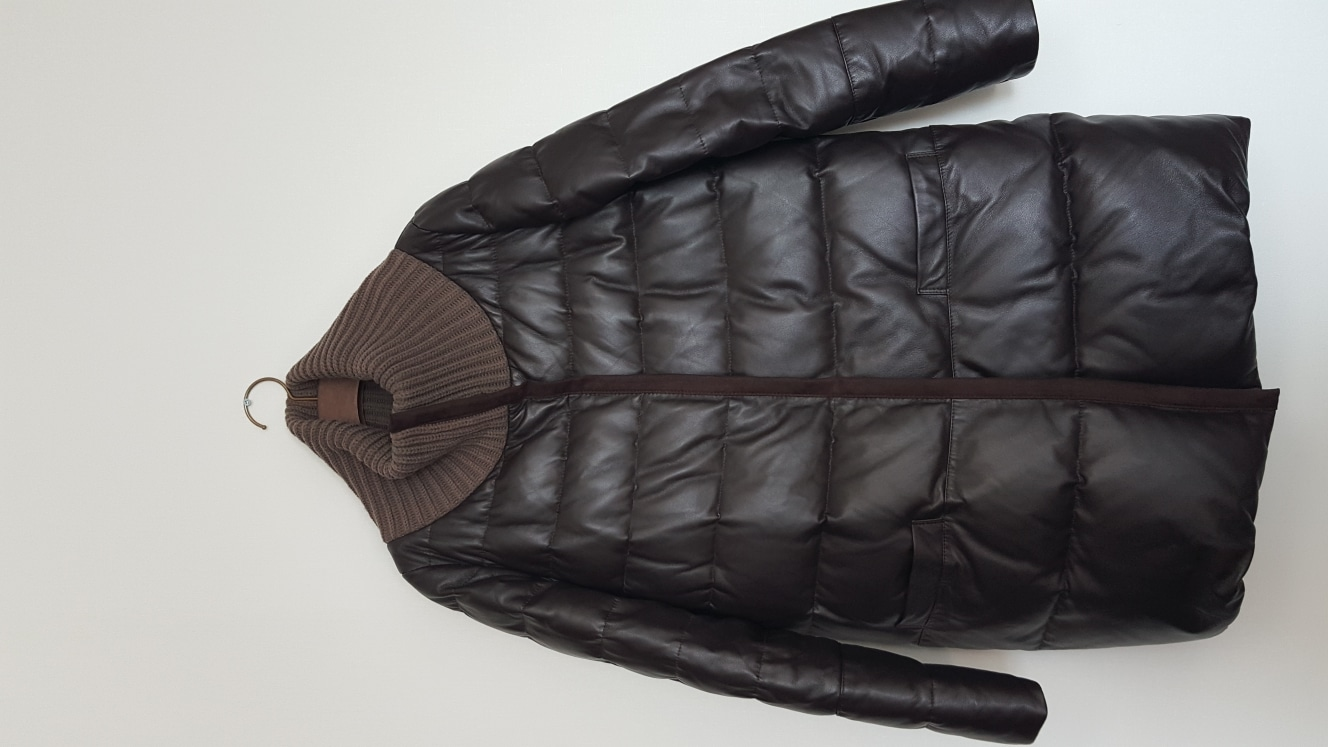포미즈 새상품 양가죽 코트 55