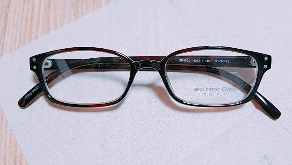 [가격인하] salbator rosa 안경테(새상품)